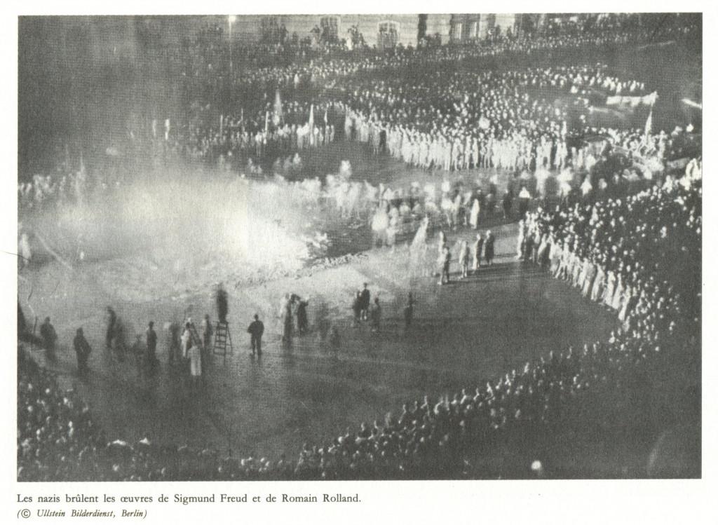 Les ennemis du genre humain les_nazis_brûlent_les_oeuvres_de_freud_et_de_romain_rolland-1024x749