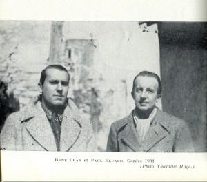 Le Marteau sans maître dans Paul Eluard char-and-eluard-1931-300x264